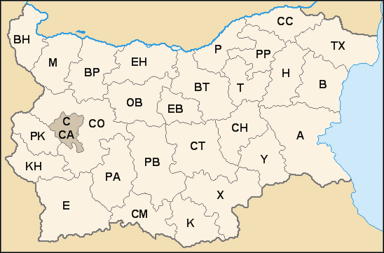 Bulgaria license plate codes.png