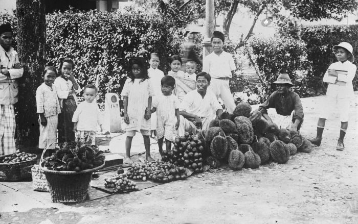 File:COLLECTIE TROPENMUSEUM Fruitverkoper te Medan Sumatra TMnr 10002440.jpg