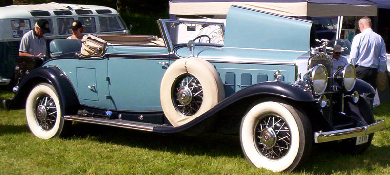Cadillac Series A V Convertible Coupe