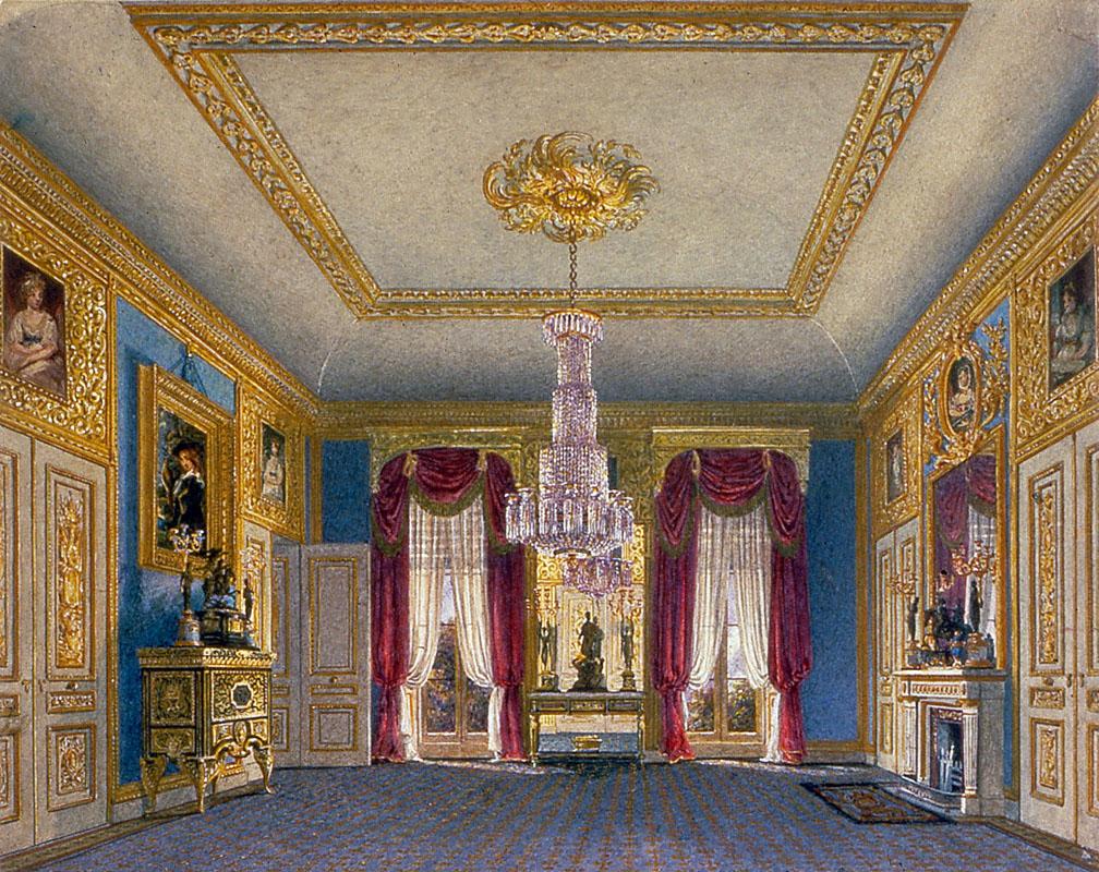 Carlton House, Ante-Room looking South, by Charles Wild, 1817 - royal coll 922182 119063 ORI 0.jpg