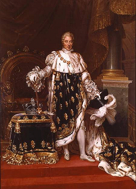 Fichier:Charles X of France in his coronation robes by Paulin Guerin.png —  Wikipédia