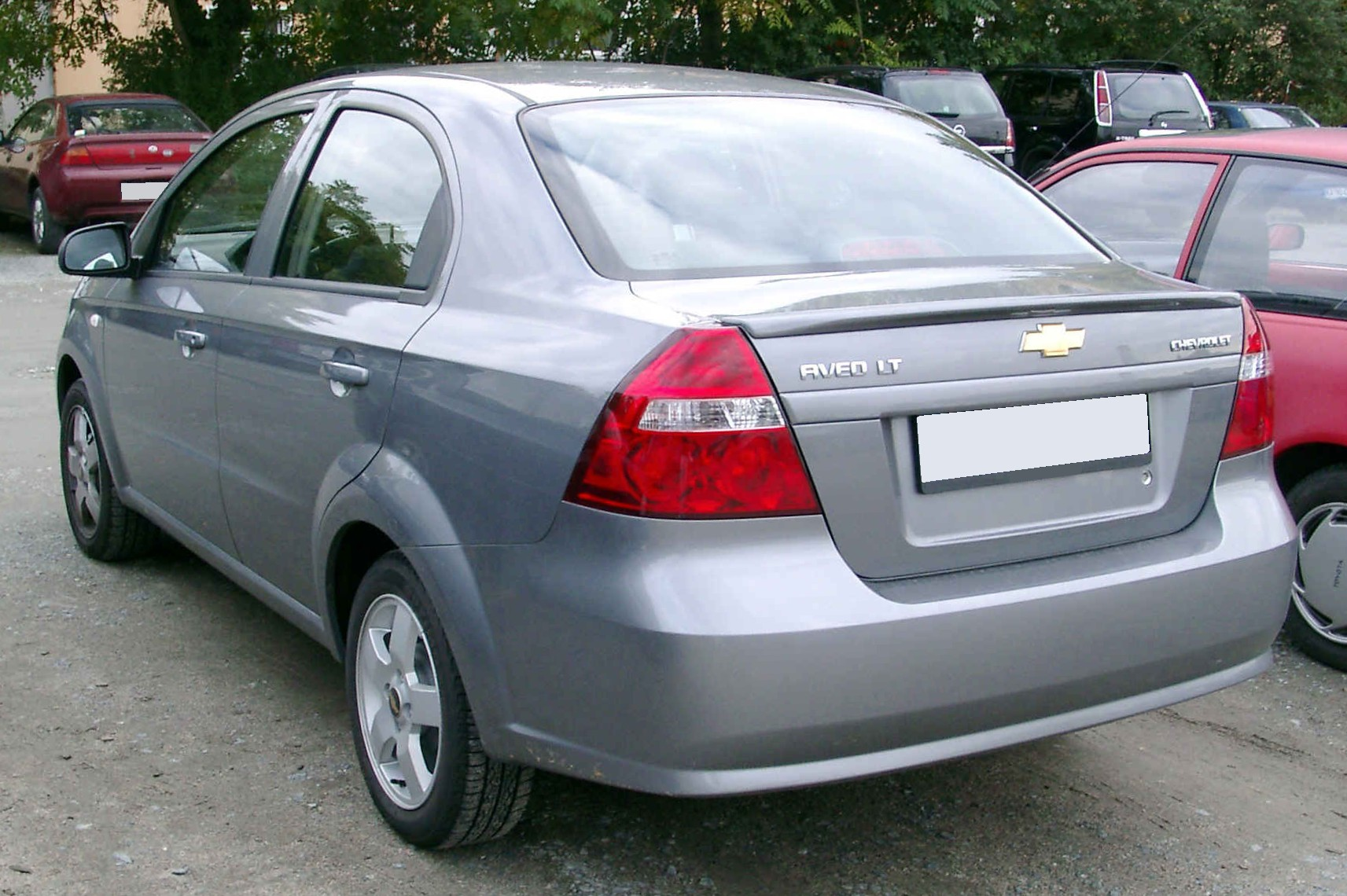 File Chevrolet Aveo Rear 20081007 Jpg Wikipedia