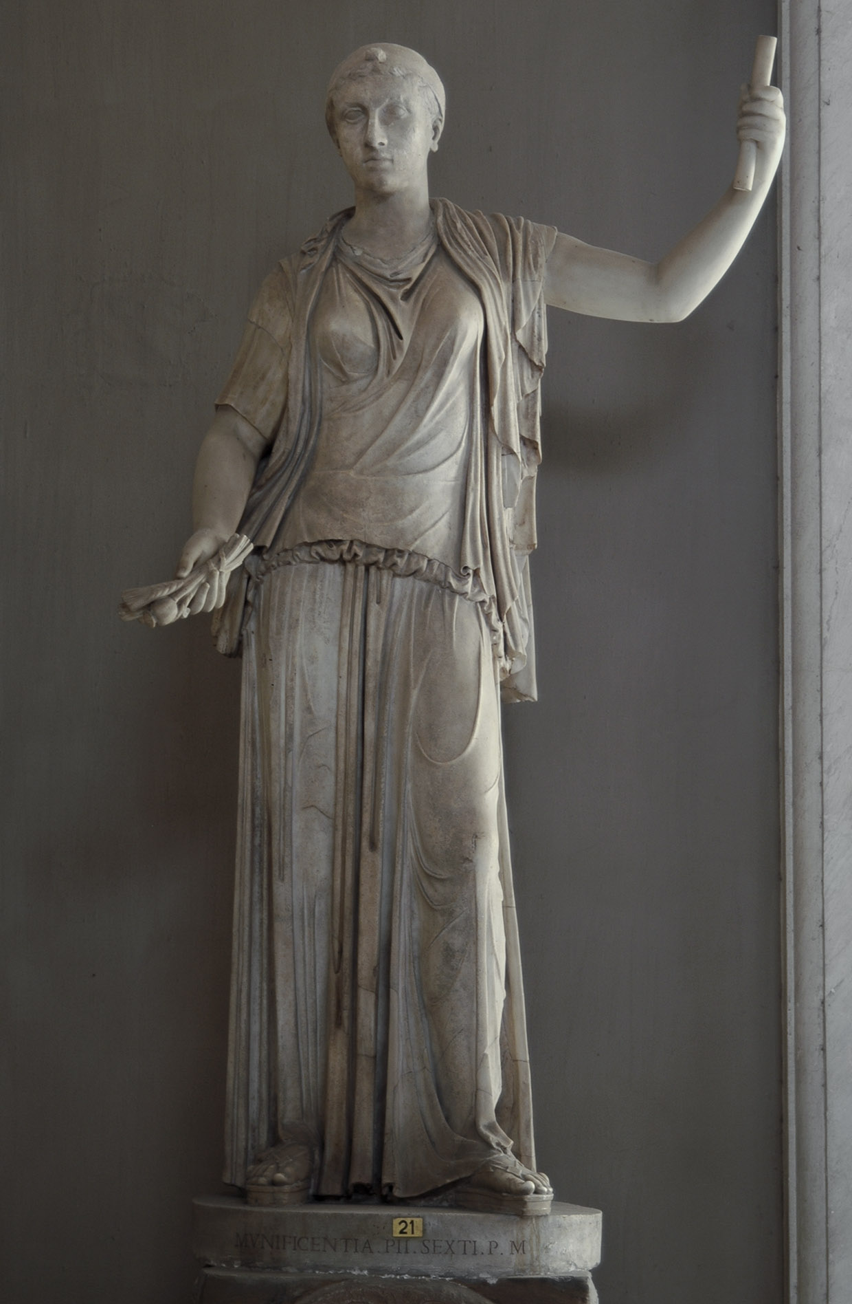 File Cleopatra Vii Marble Vatican Museums Pius