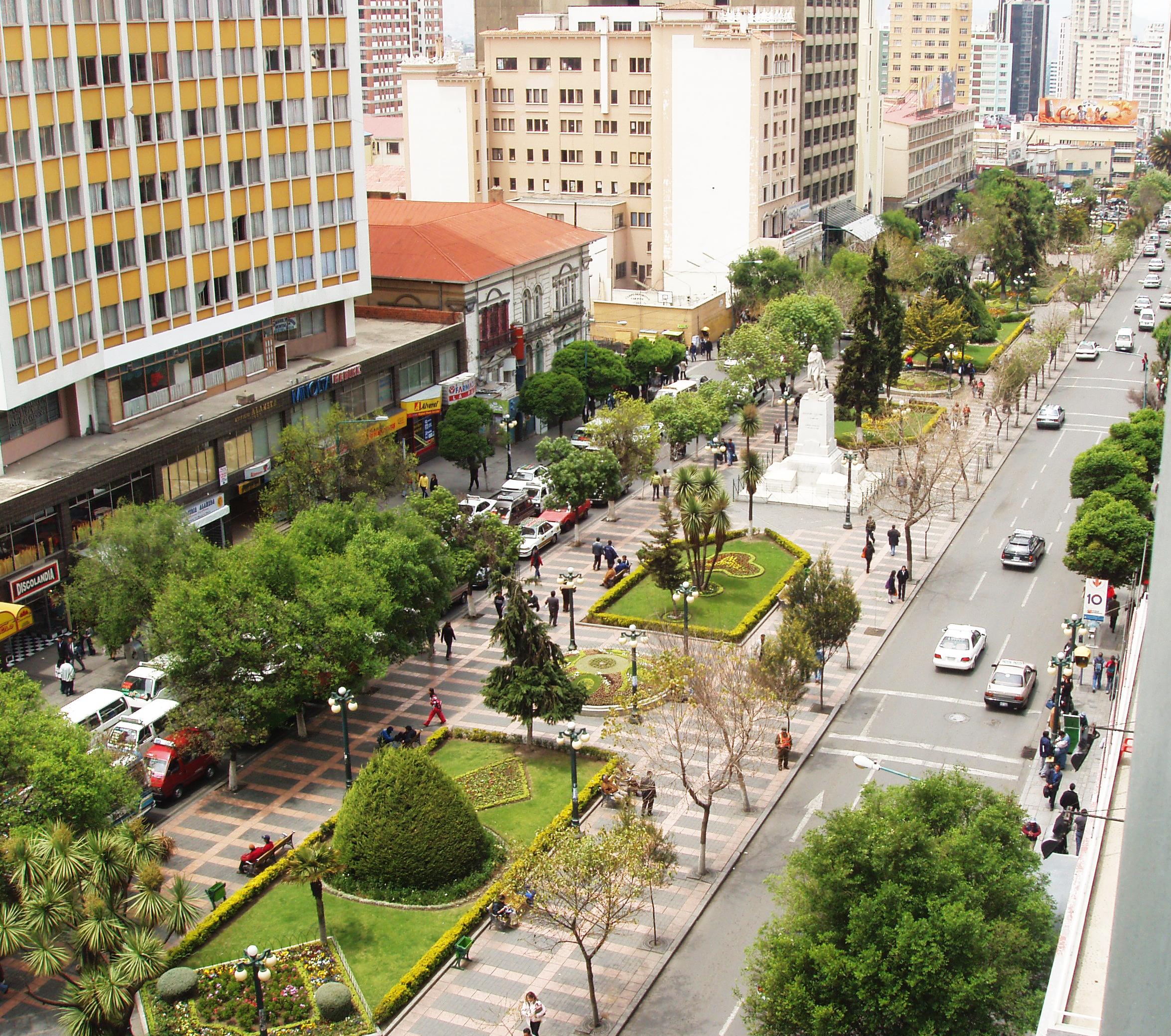 Paseo del Prado (La Paz) - Wikipedia, la enciclopedia libre