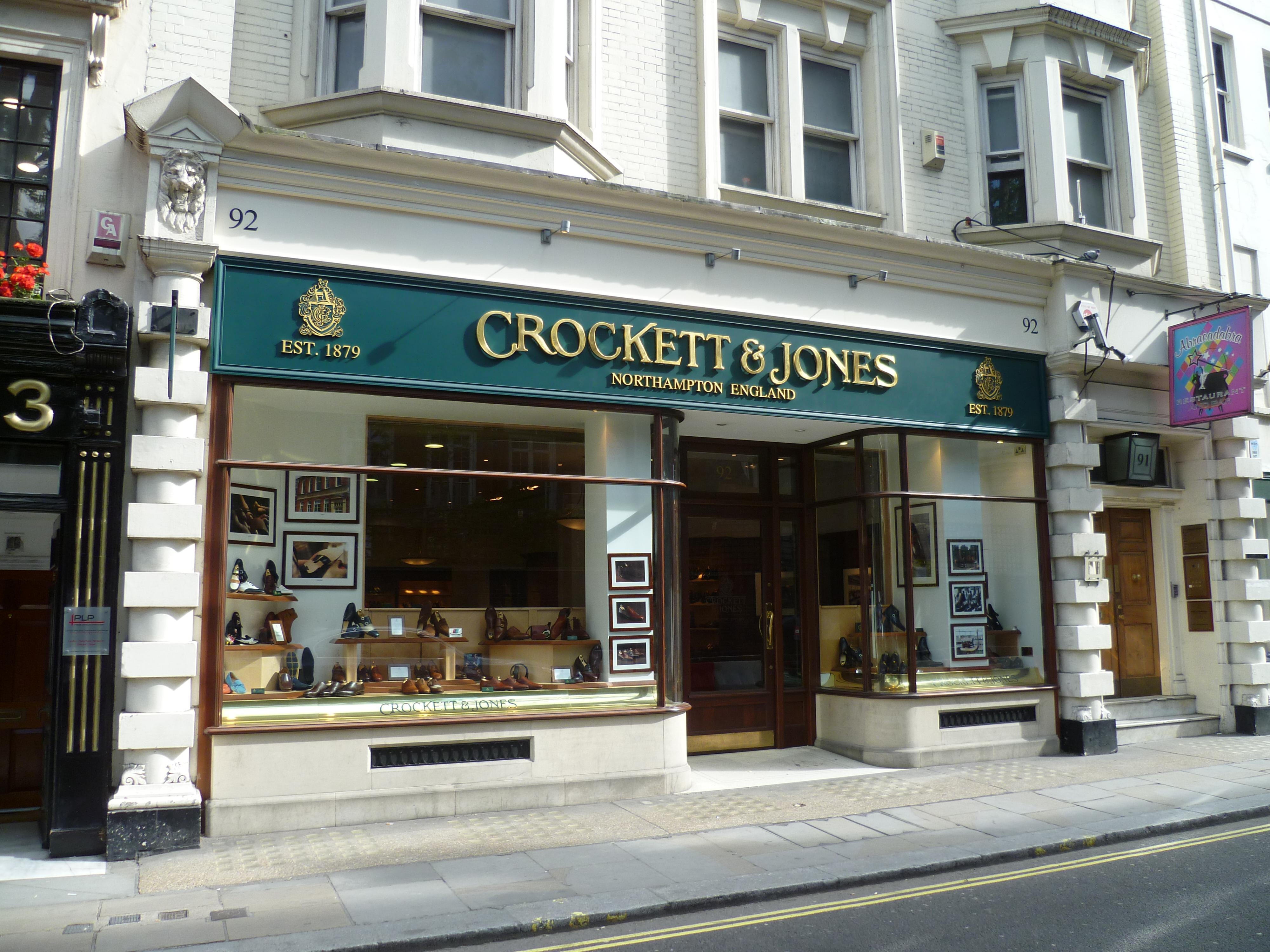 crockett and jones stockholm
