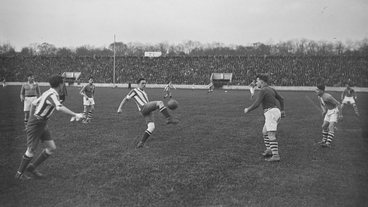 File demi finale de la coupe de france de football 1923 - Demi final coupe de france ...