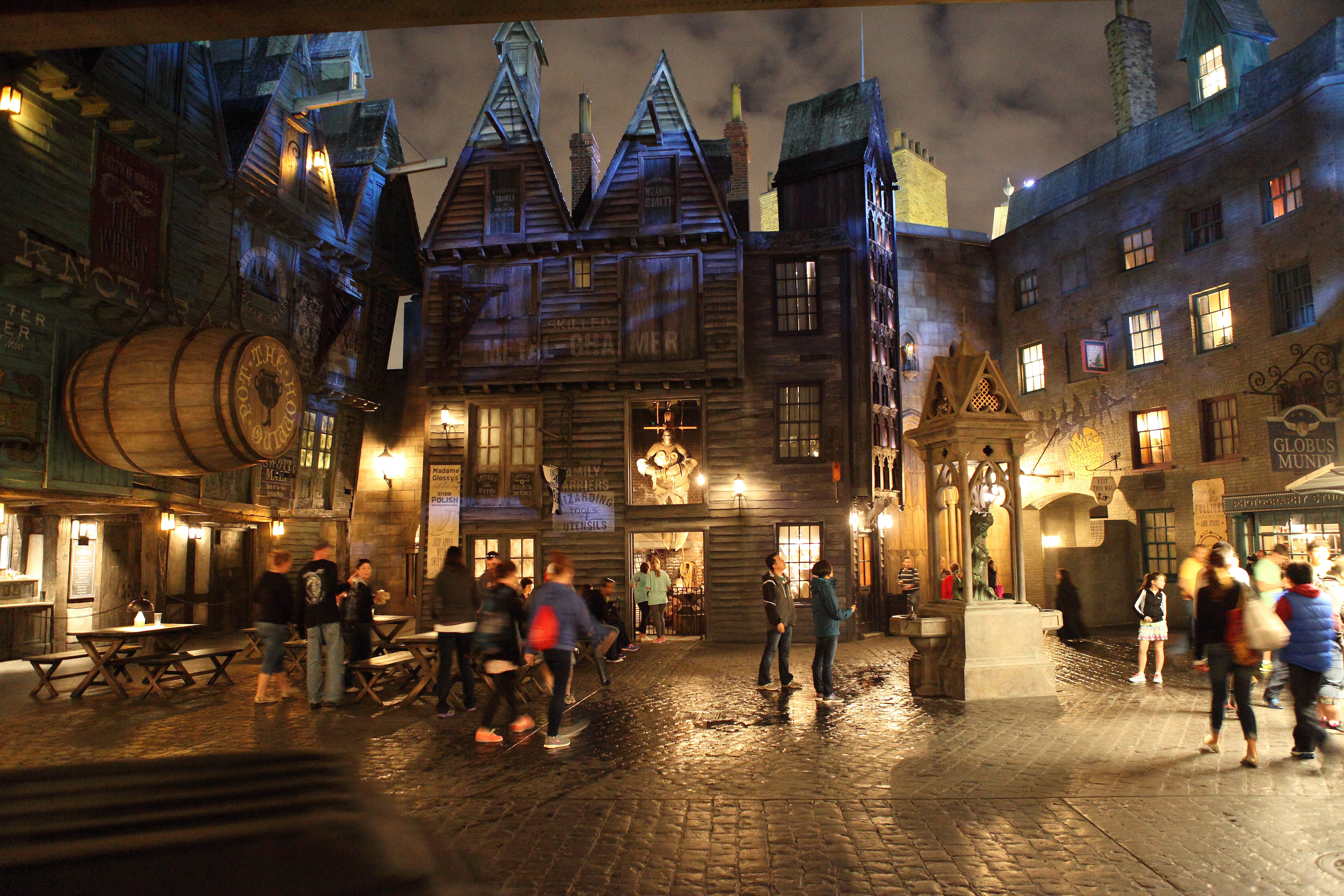 Harry Potter Diagon Alley Tiered Cakes