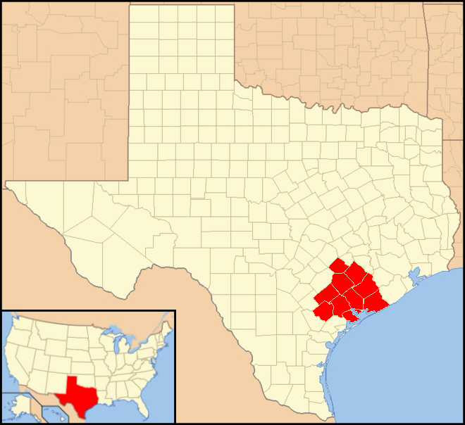 Map Of Texas Victoria.File Diocese Of Victoria In Texas Jpg Wikimedia Commons