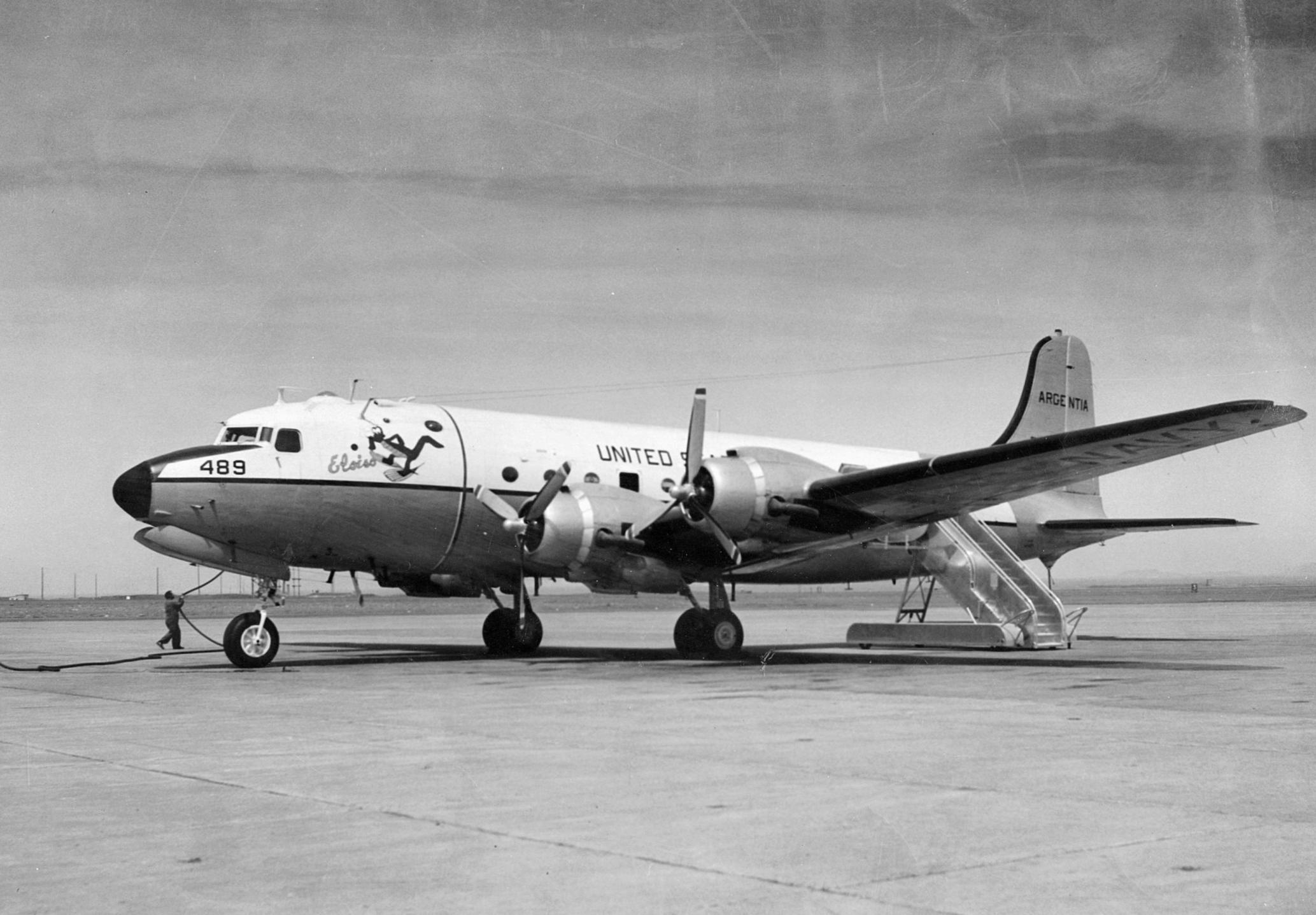 File Douglas C 54q Assigned To Nas Argentia Jpeg