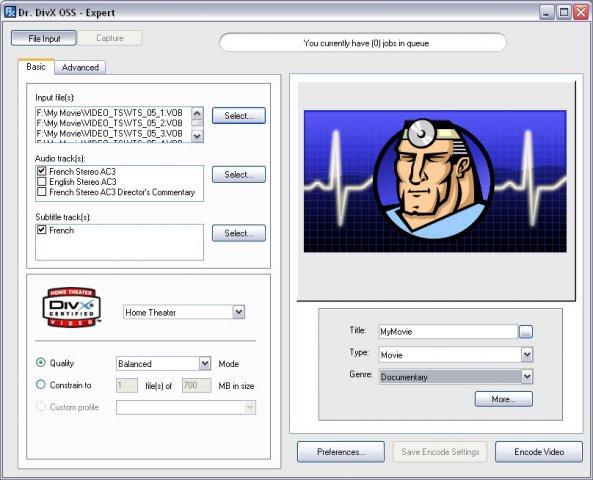 Dr. DivX OSS 2.0.1 Beta 7 full