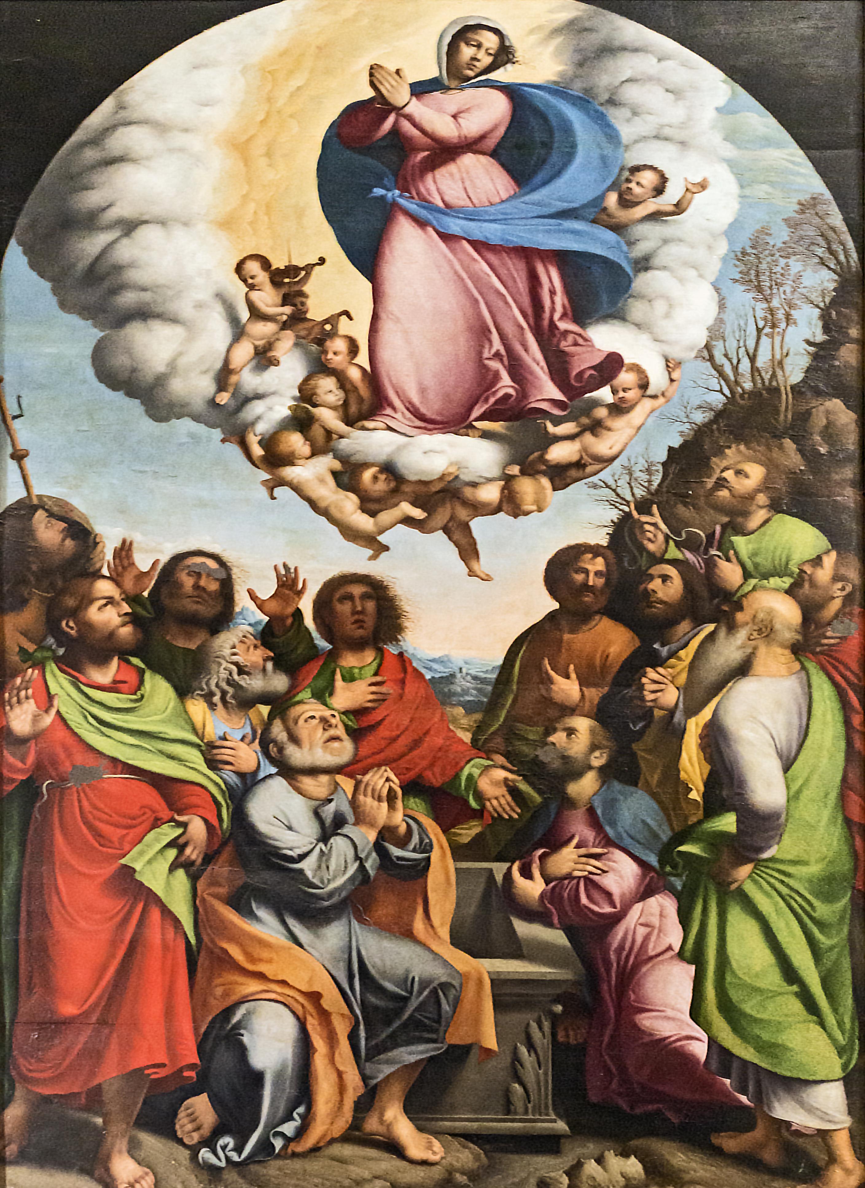 Assunzione della Vergine di Domenico Capriolo