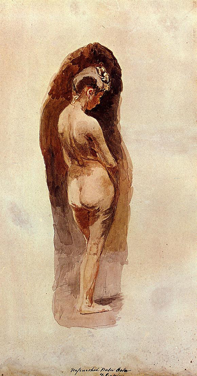 Description Eakins Female Nude