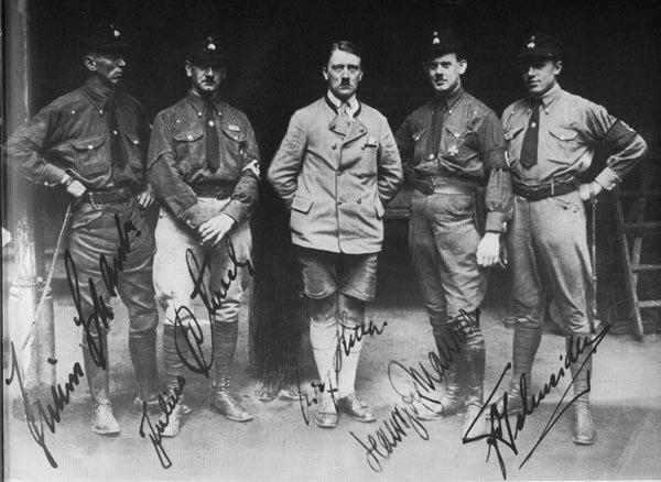 Stabswache, 1925