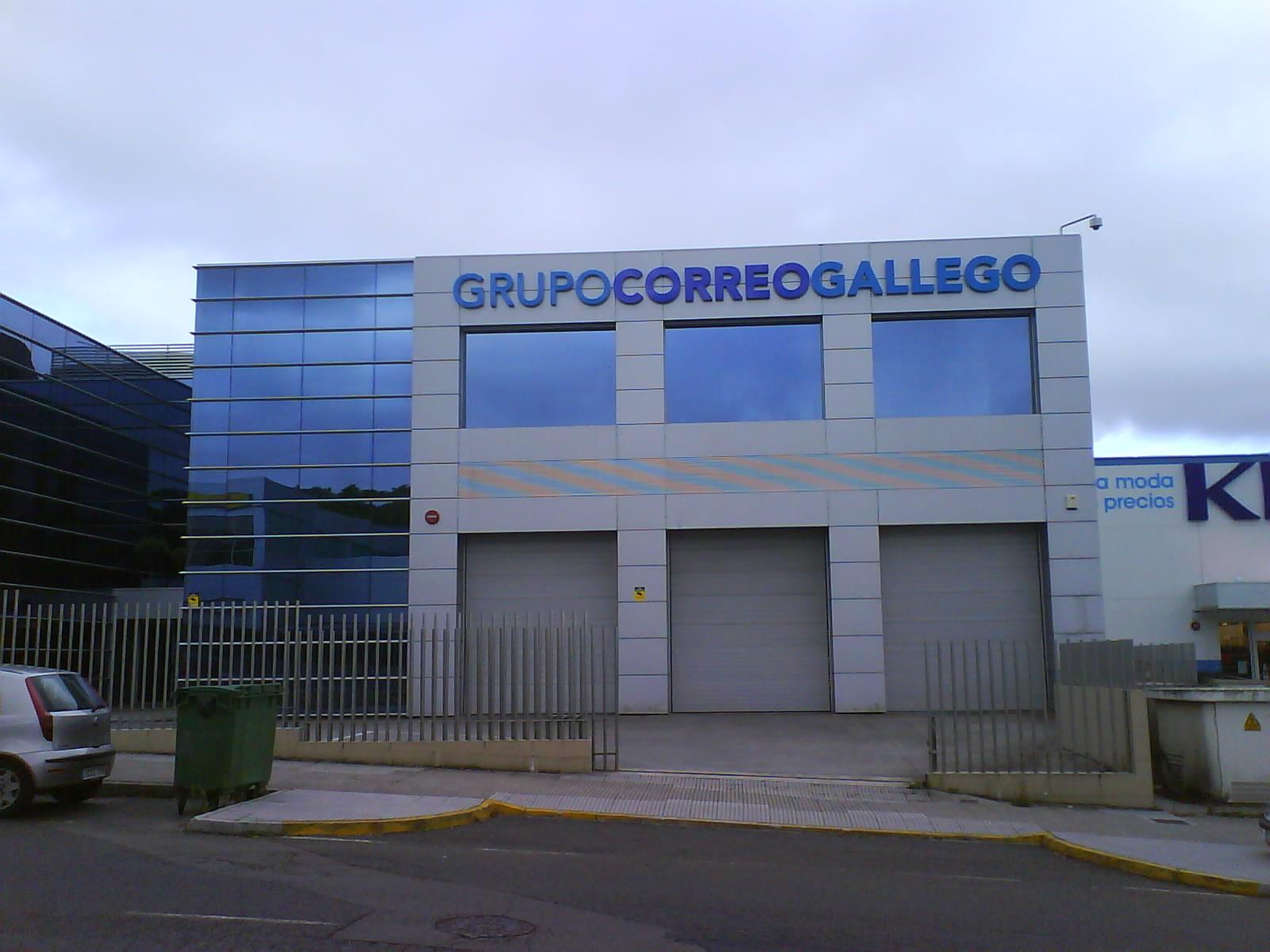 File edificio grupo correo gallego santiago de compostela for Oficinas de correos en santiago de compostela