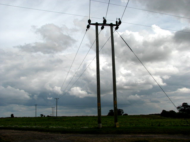 File:Electricity Poles - geograph.org.uk - 527336.jpg ...