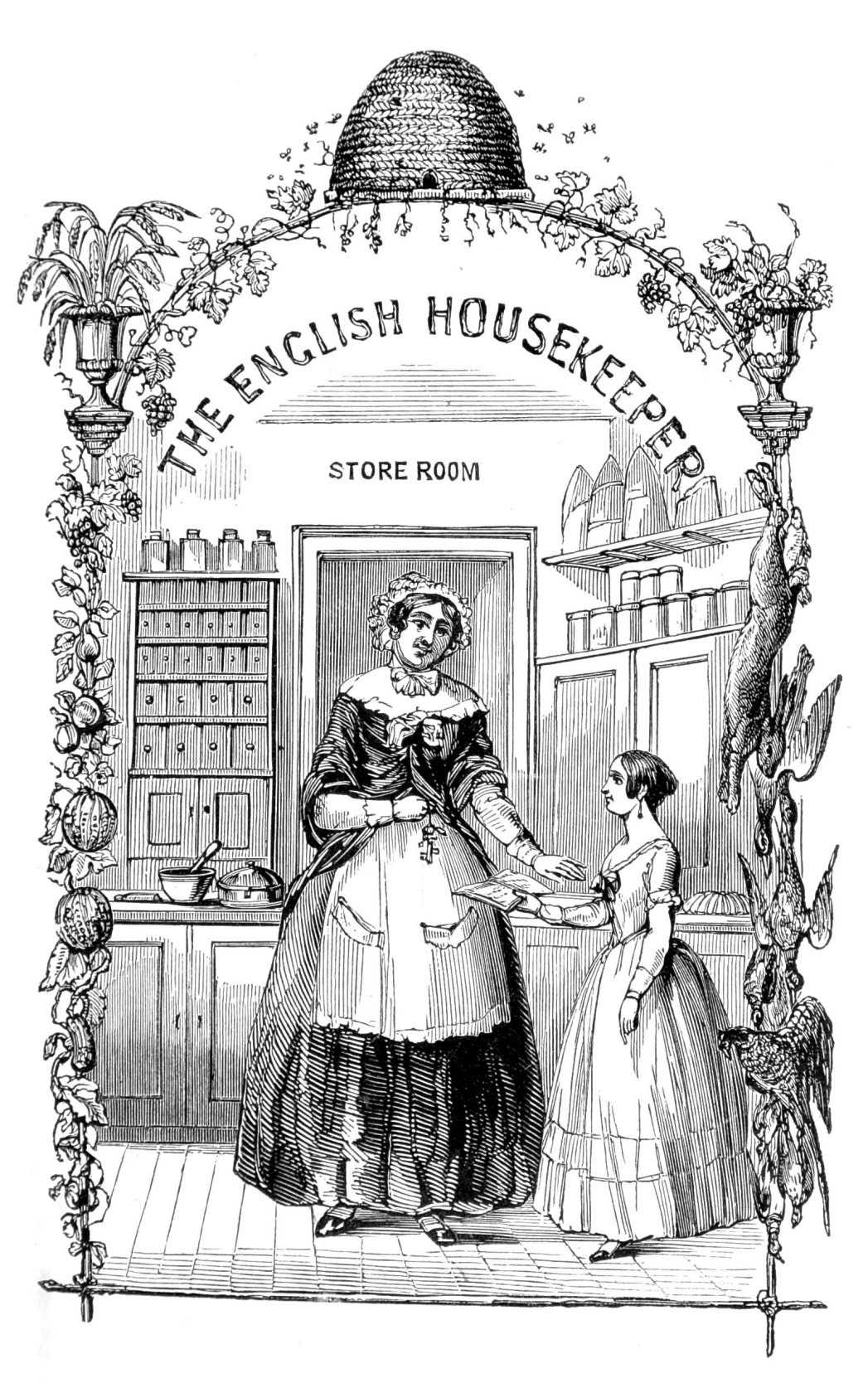 Image result for housekeeping victorian public domain