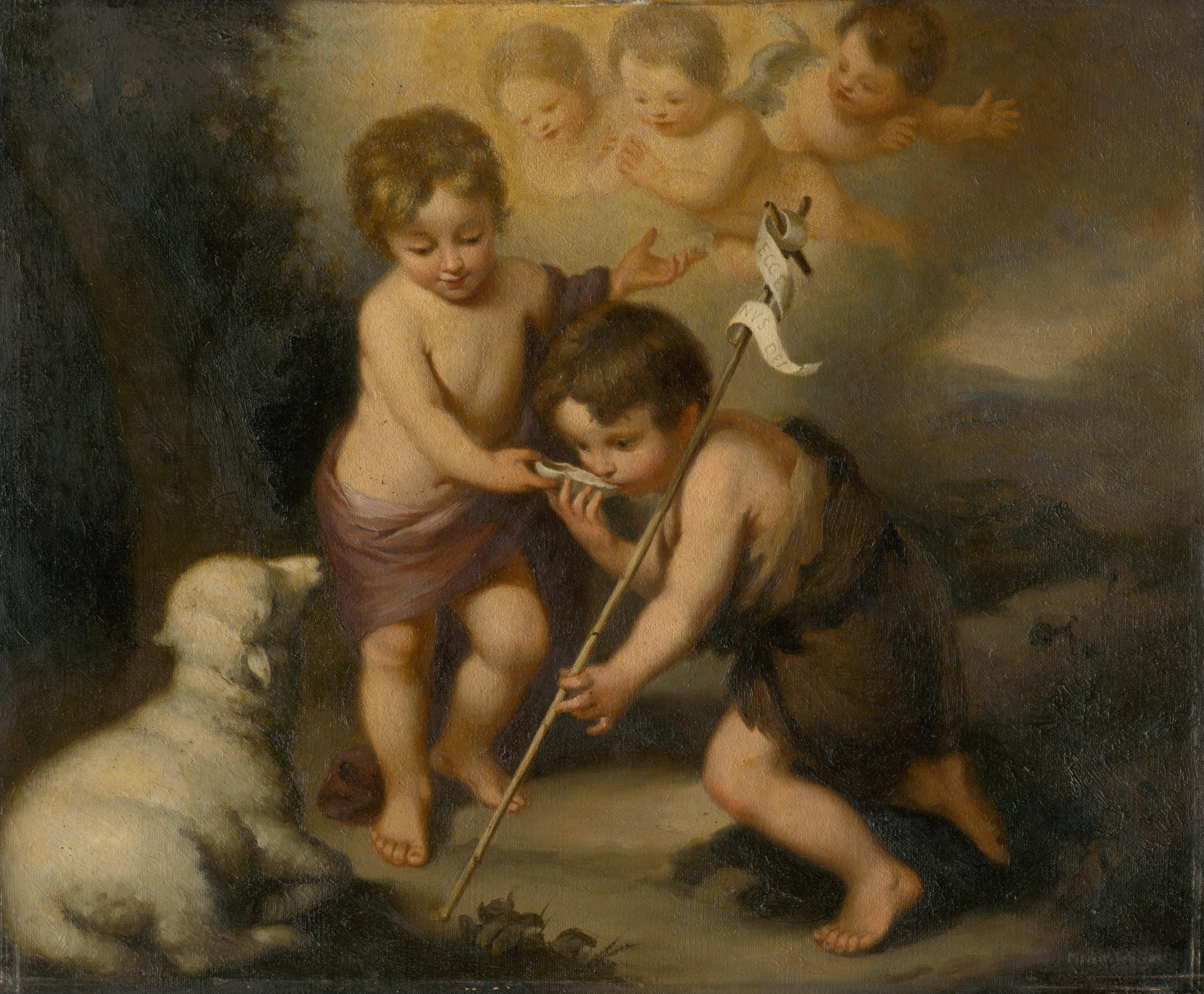 File Felician Moczik Baby Jesus With Saint John The Baptist O