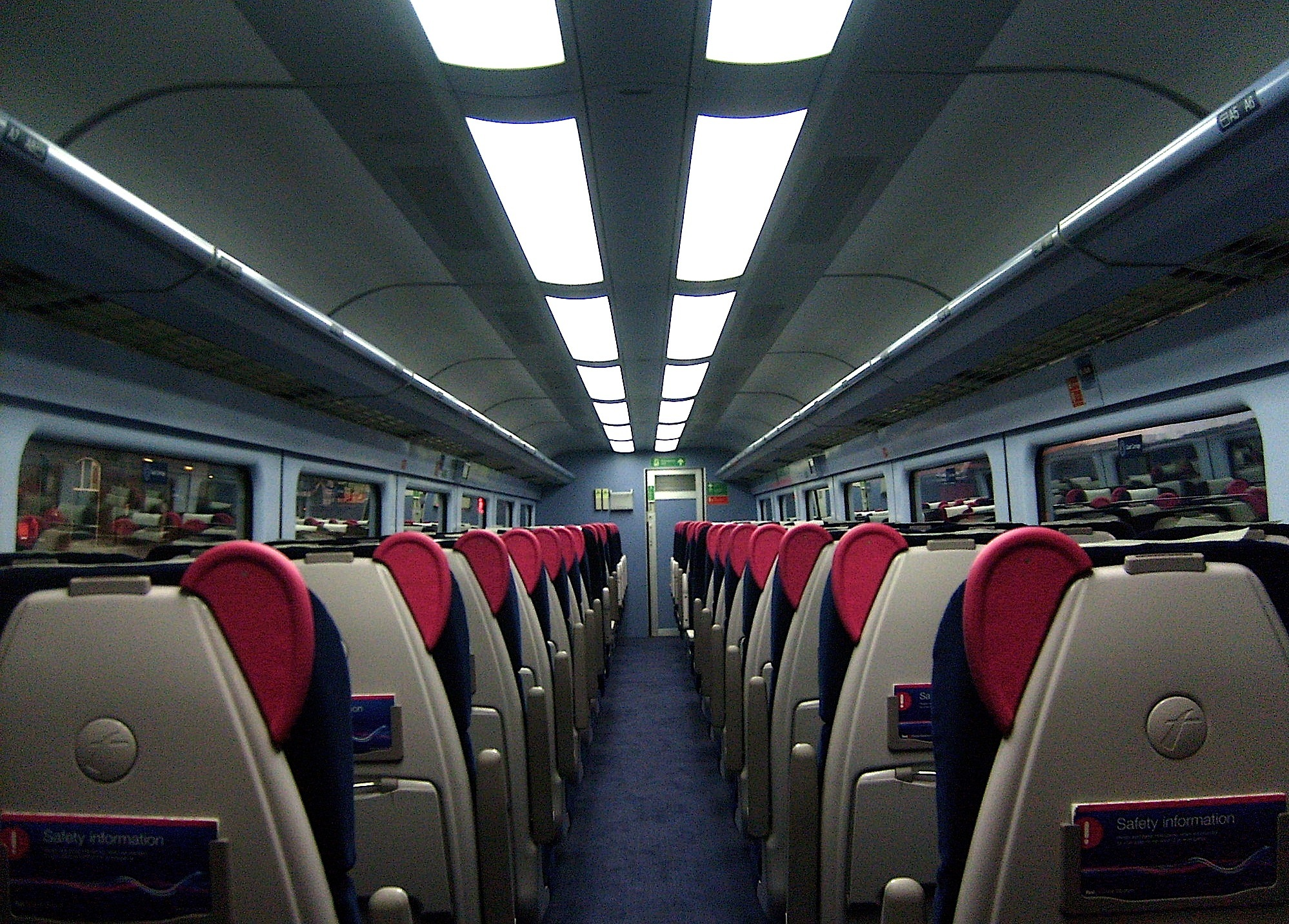Description First Great Western Refreshed HST A3 TGS 44032 Interior ...