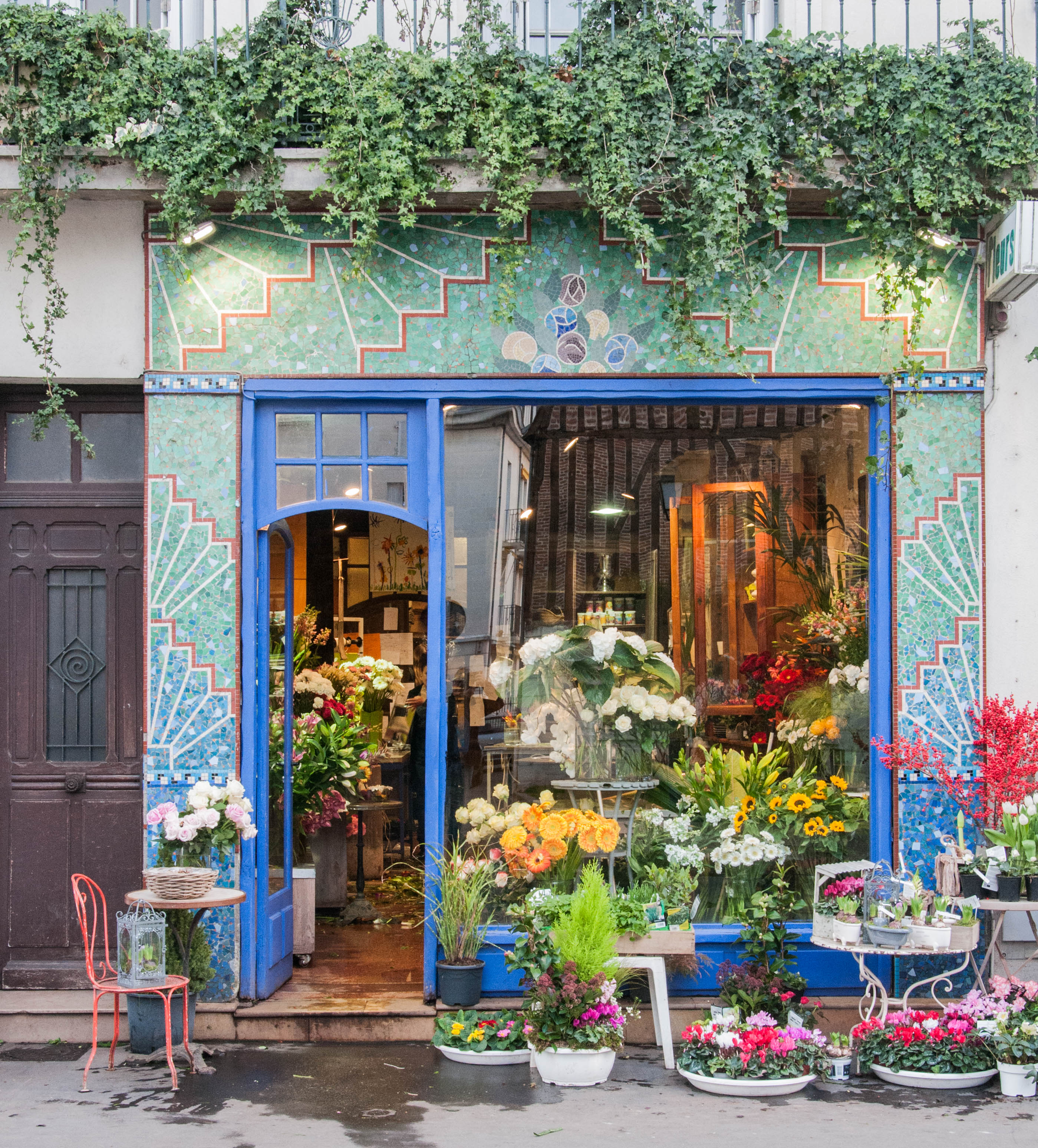 fichier fleuriste rue georges courteline tours indre et loire france jpg wikip dia. Black Bedroom Furniture Sets. Home Design Ideas