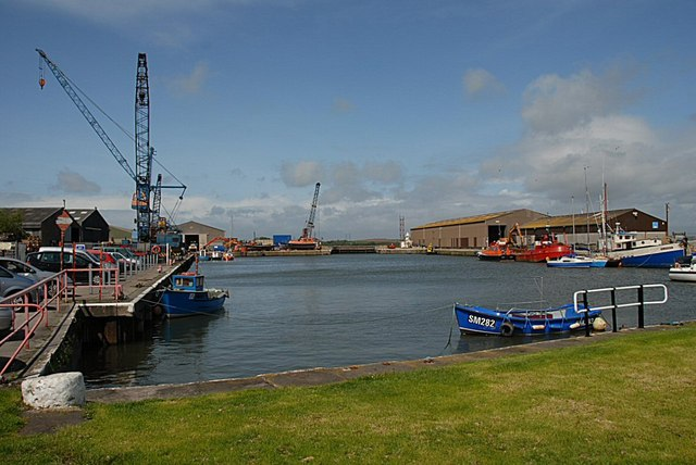 Glasson Outer Dock - geograph.org.uk - 1541533