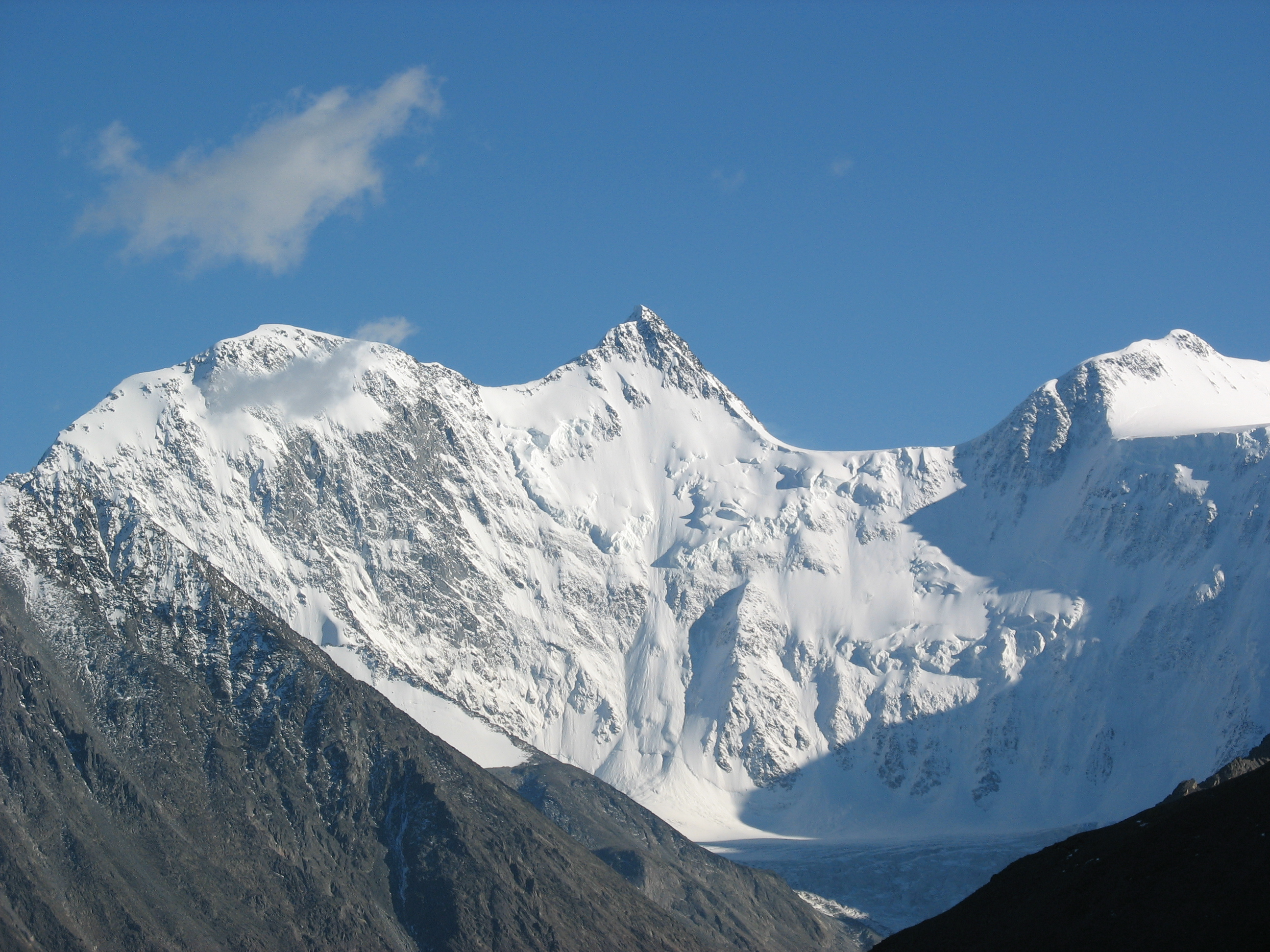 Mount everest, the tallest mountain in the whole world. T ...