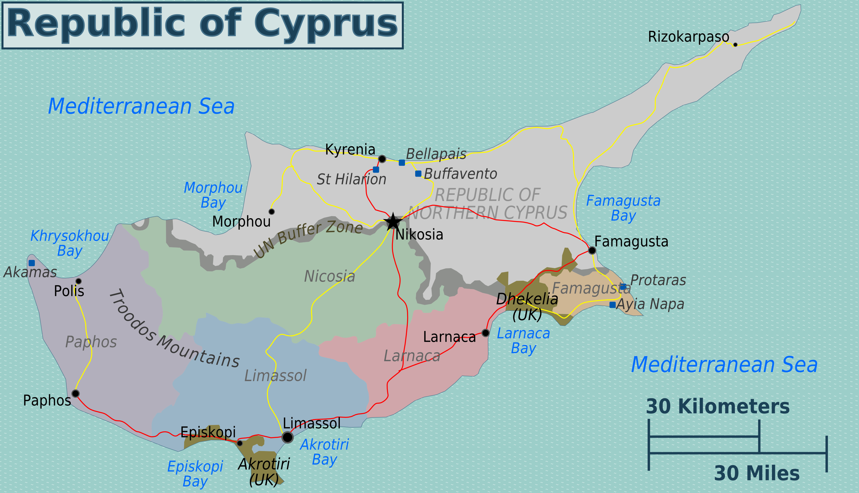FileGreek Cyprus regions mappng Wikimedia Commons