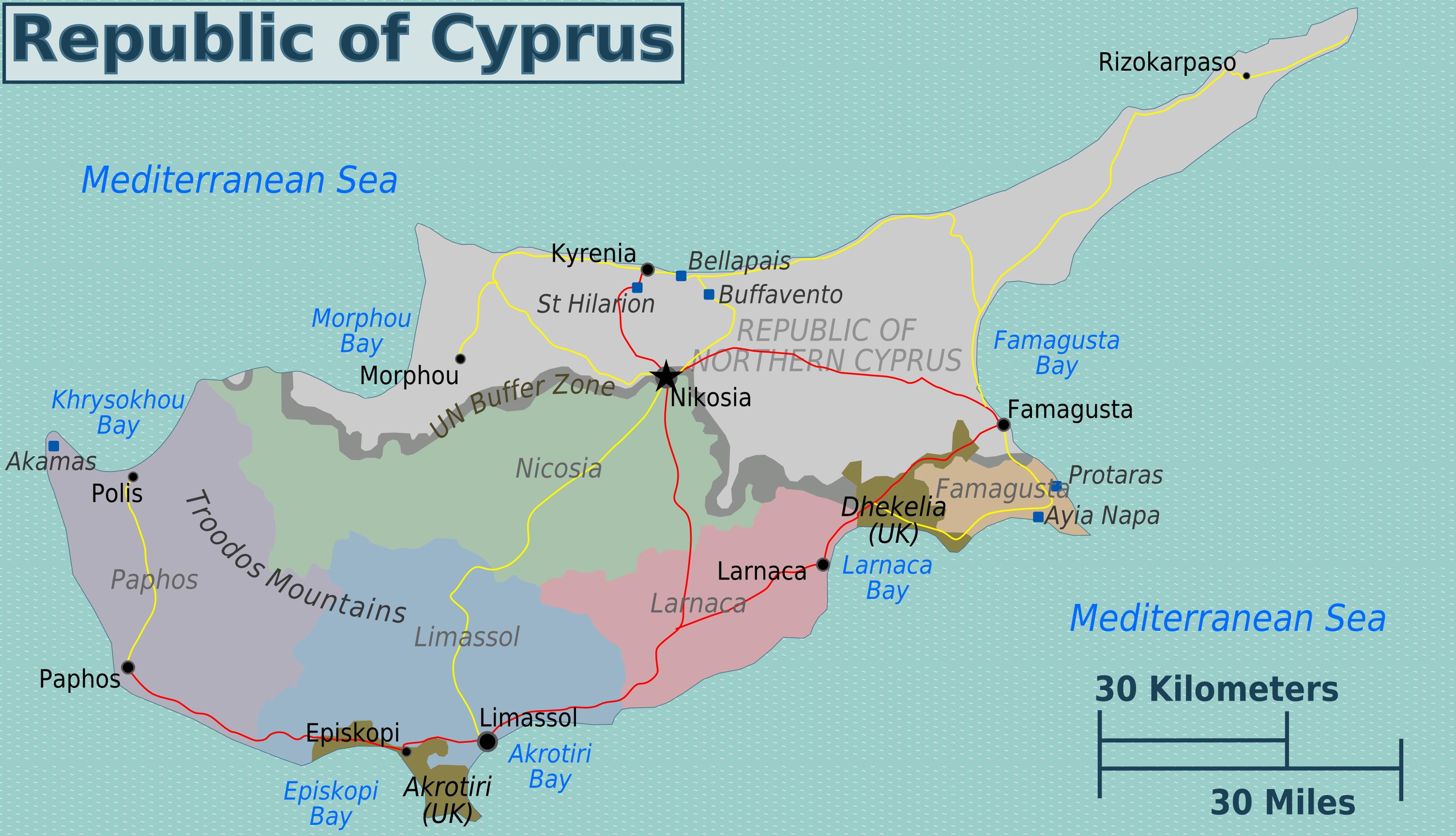 Filegreek cyprus regions mapg wikimedia commons filegreek cyprus regions mapg gumiabroncs Image collections