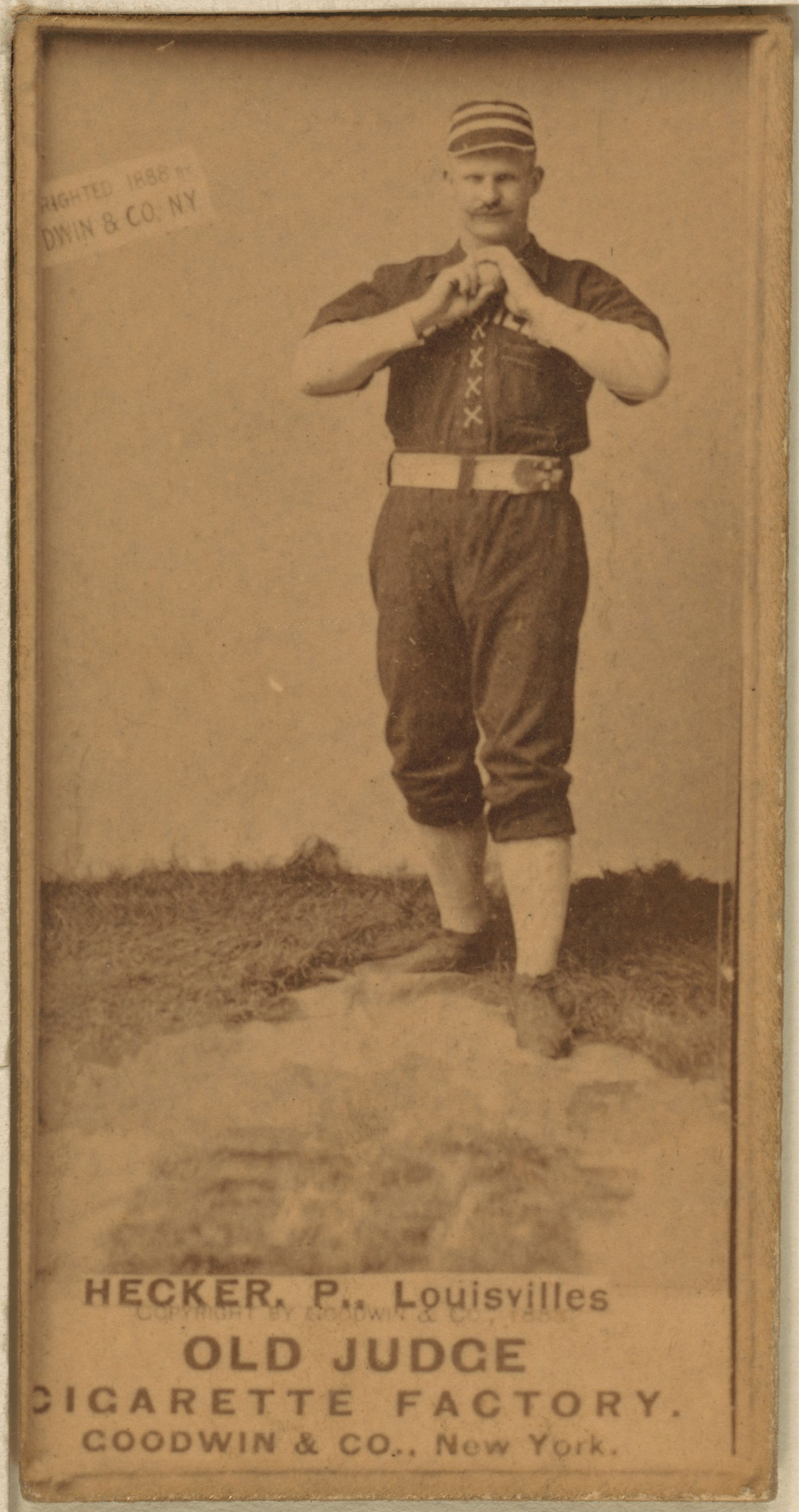 Fileguy Hecker Baseball Cardjpg Wikimedia Commons