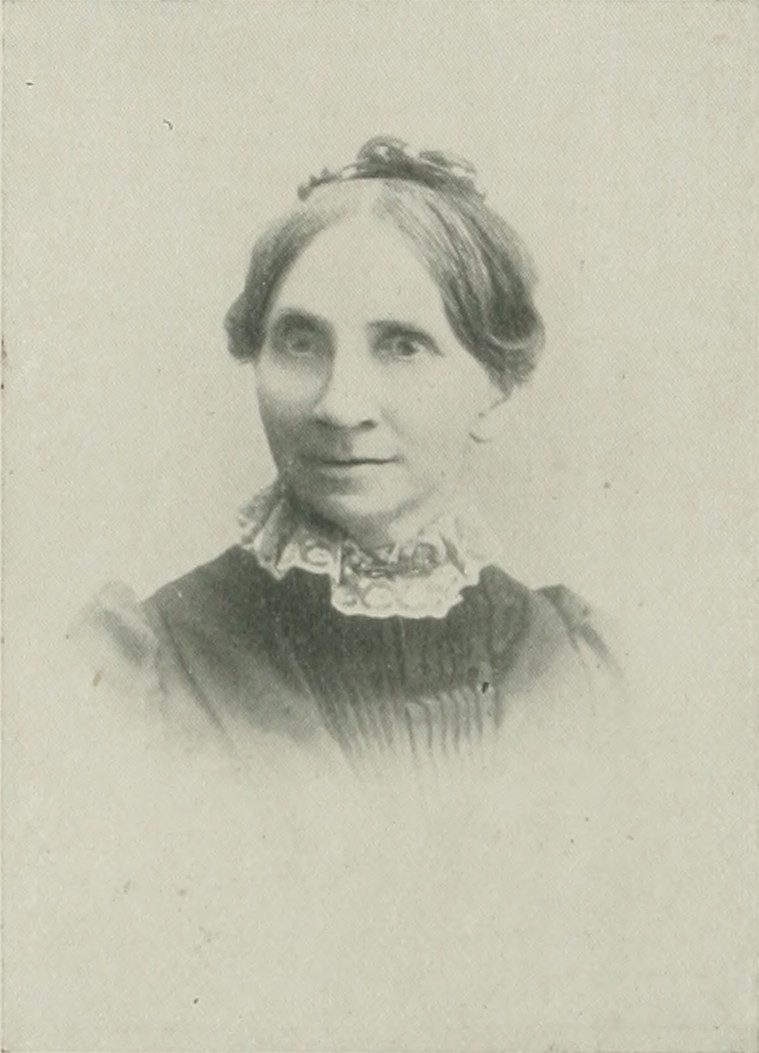 HARRIET CALISTA CLARK McCABE A woman of the century (page 492 crop).jpg