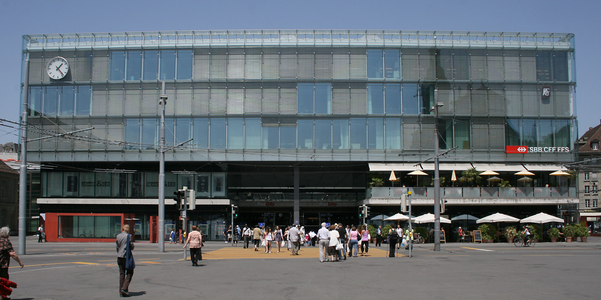 Estación de Berna (Suiza)