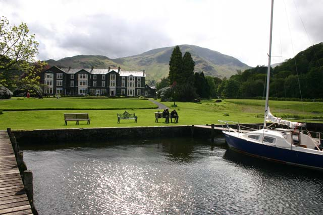 Inn on the Lake Hotel from their landing stage. - geograph.org.uk - 371987