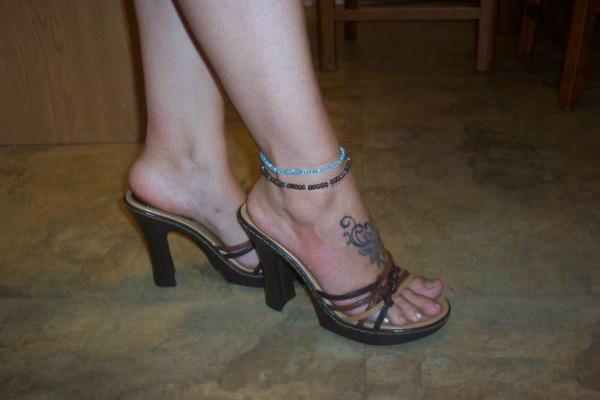 Ladies White Mule Shoes
