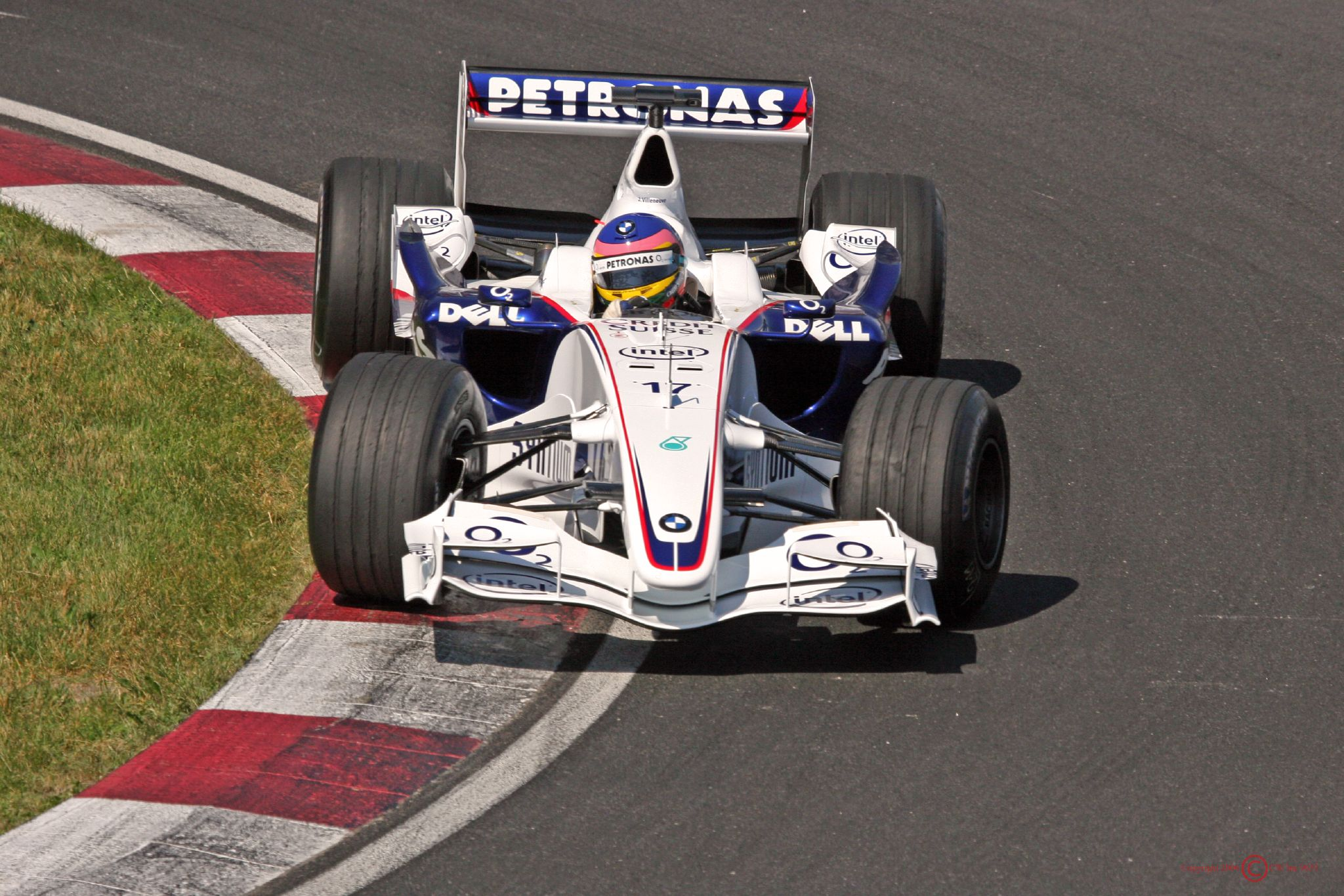 BMW first entered Formula One as a full-fledged team in 2006.