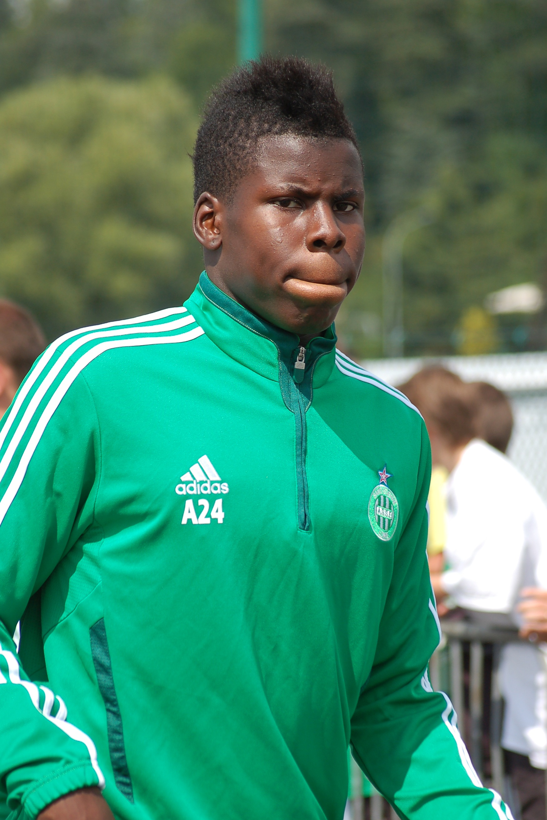 Football wonderkid Kurt Zouma