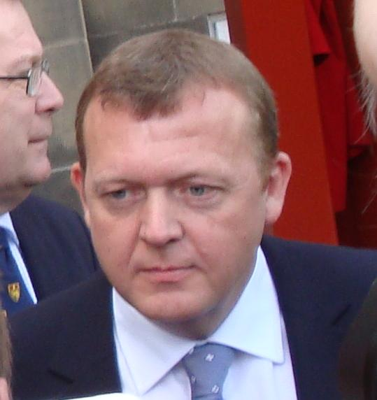 Photo of Danish PM Lars Lokke Rasmussen