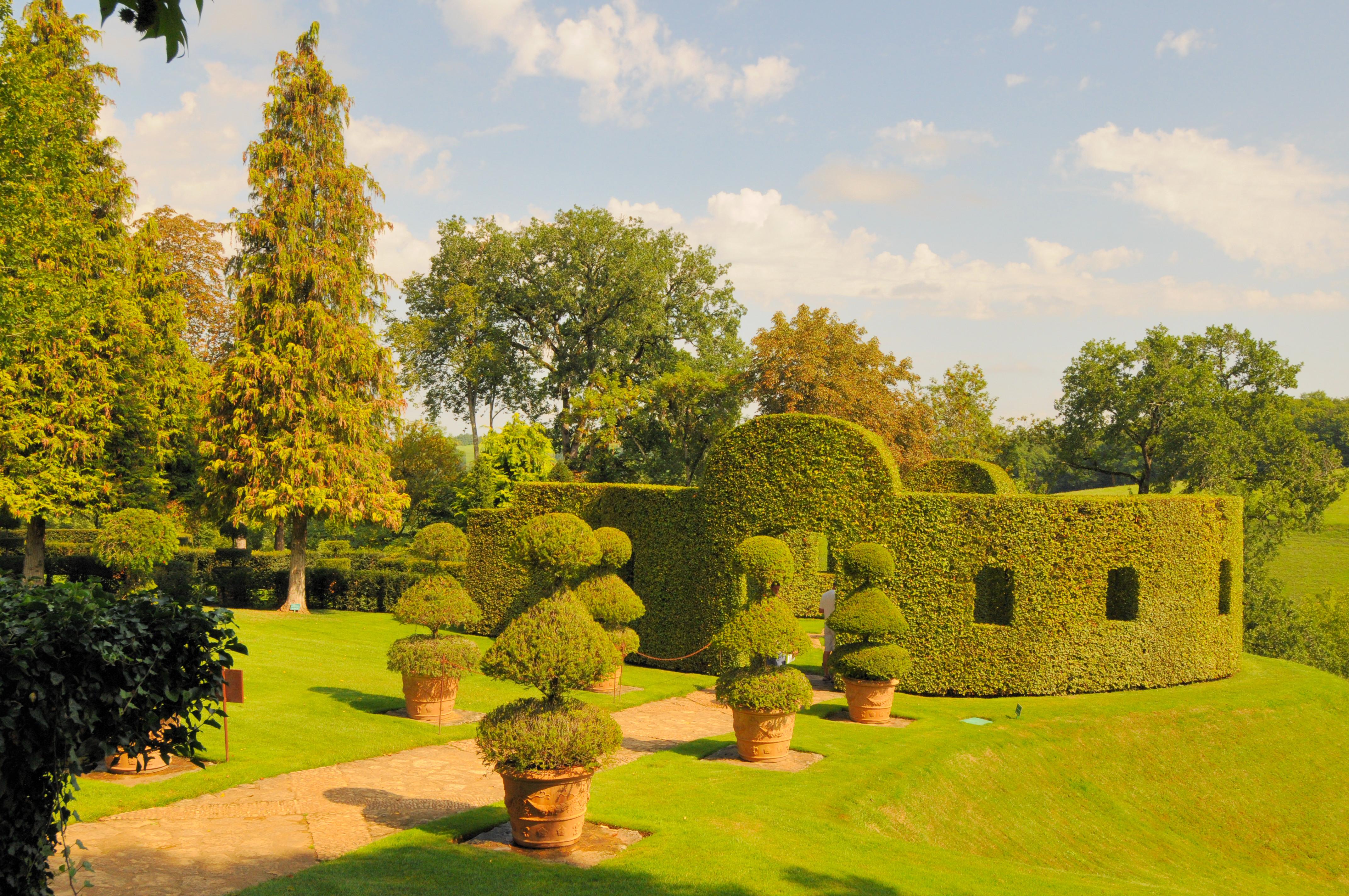 File les jardins du manoir d eyrignac wikimedia - Jardin du manoir d eyrignac ...