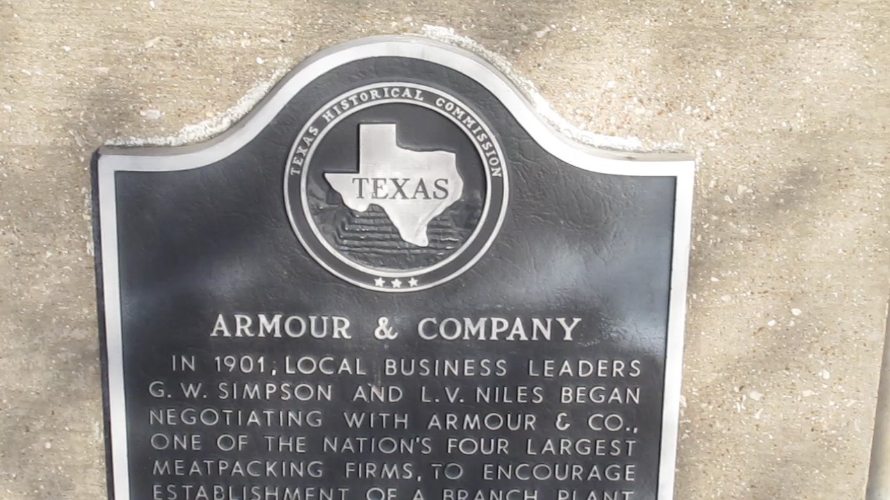 File:MVI 2937 Armour and Co. historical marker in Fort Worth.jpg