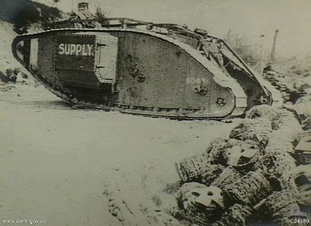 Mark IV supply tank AWM C04889