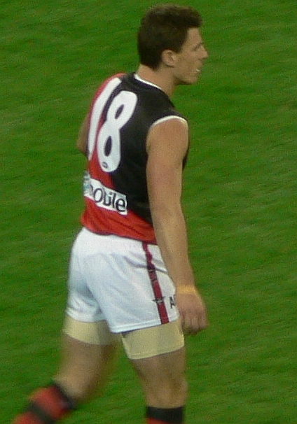 Lloyd in the 2007 AFL season Matthew lloyd.jpg