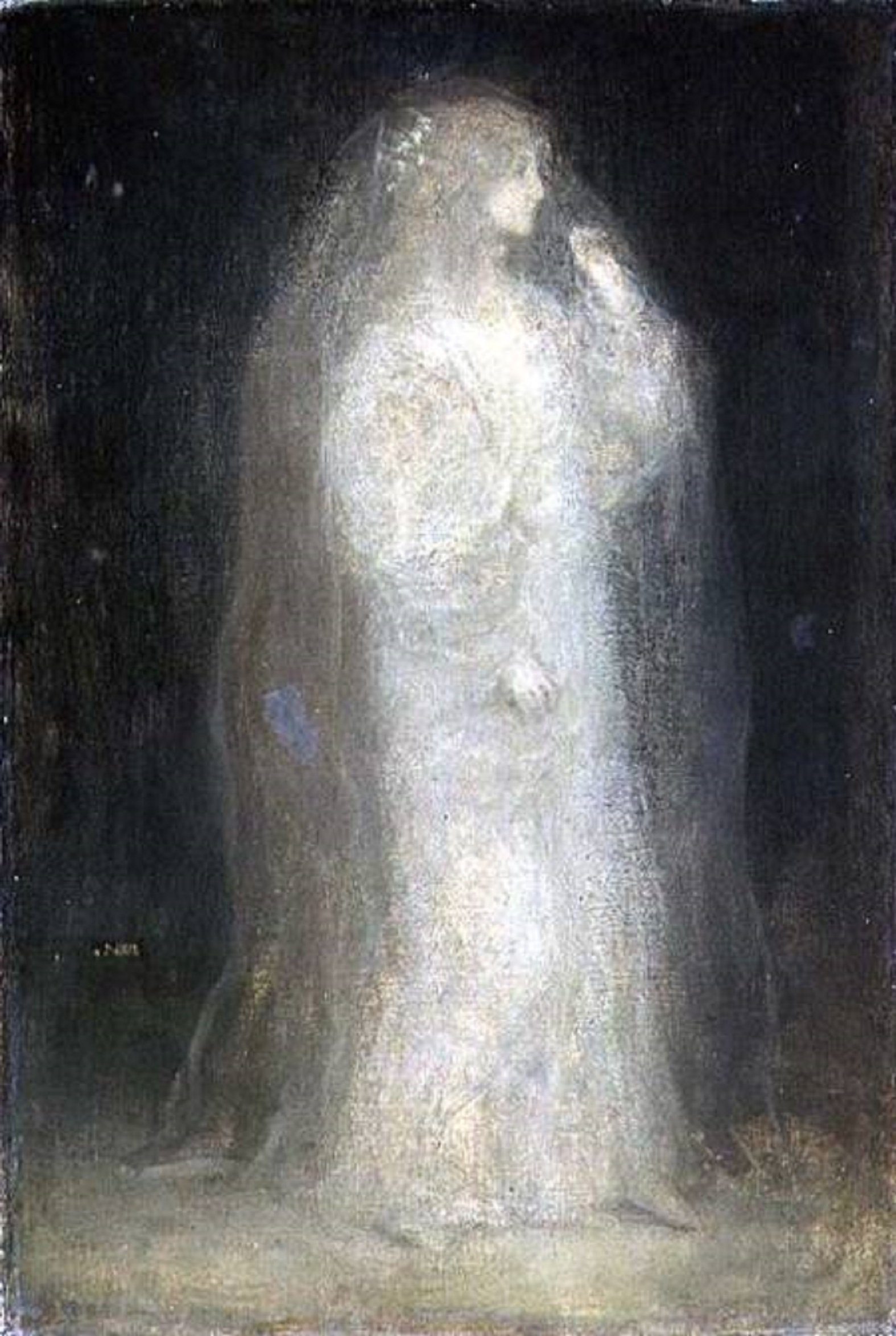 File:Matthijs Maris The Bride, or Novice taking the Veil, c 1887.jpg