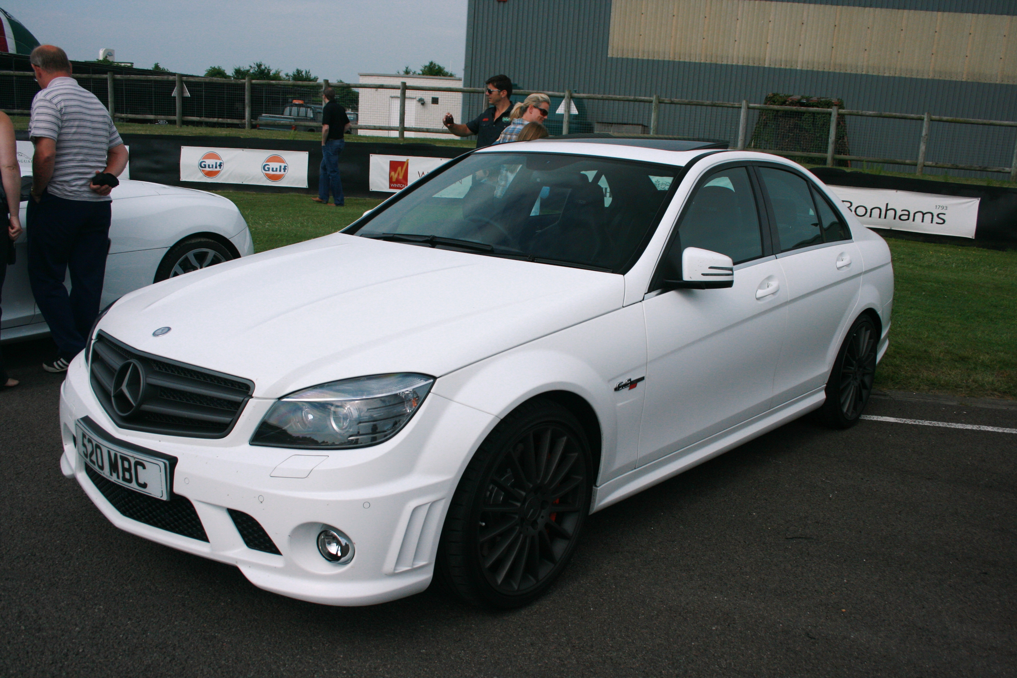 Mercedes Benz C63 Amg Wiki >> File:Mercedes C Class AMG - matte white - Flickr - Supermac1961.jpg - Wikimedia Commons