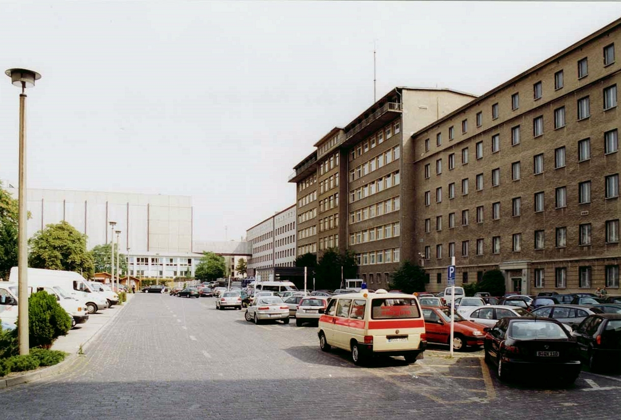 Le siège de la Stasi à Berlin
