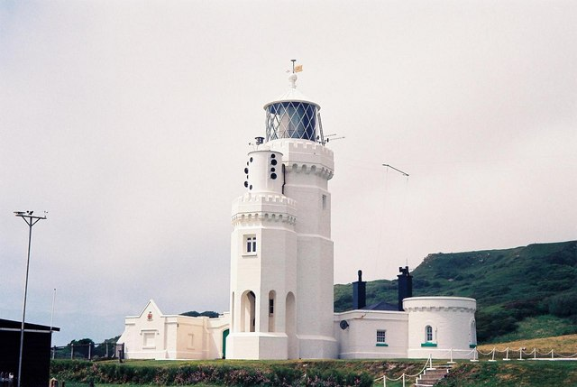 Niton, St. Catherine's Point lighthouse - geograph.org.uk - 644591