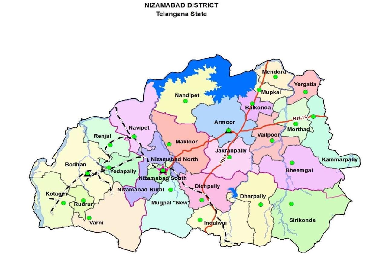Nizamabad North mandal - Wikipedia
