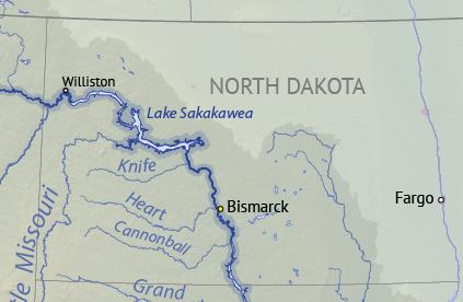 Lake Sakakawea - Wikipedia