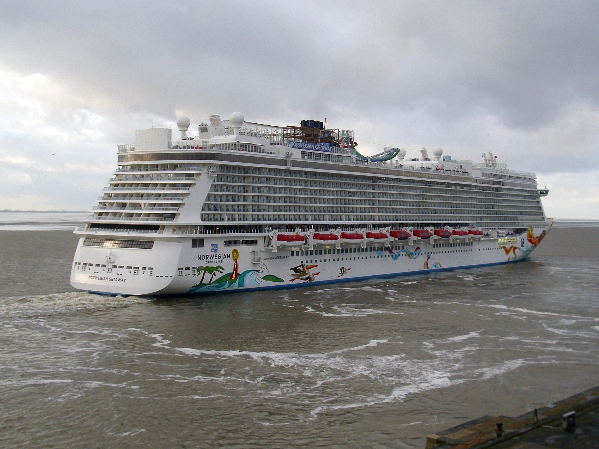 Cruise ship norwegian getaway for Ncl getaway