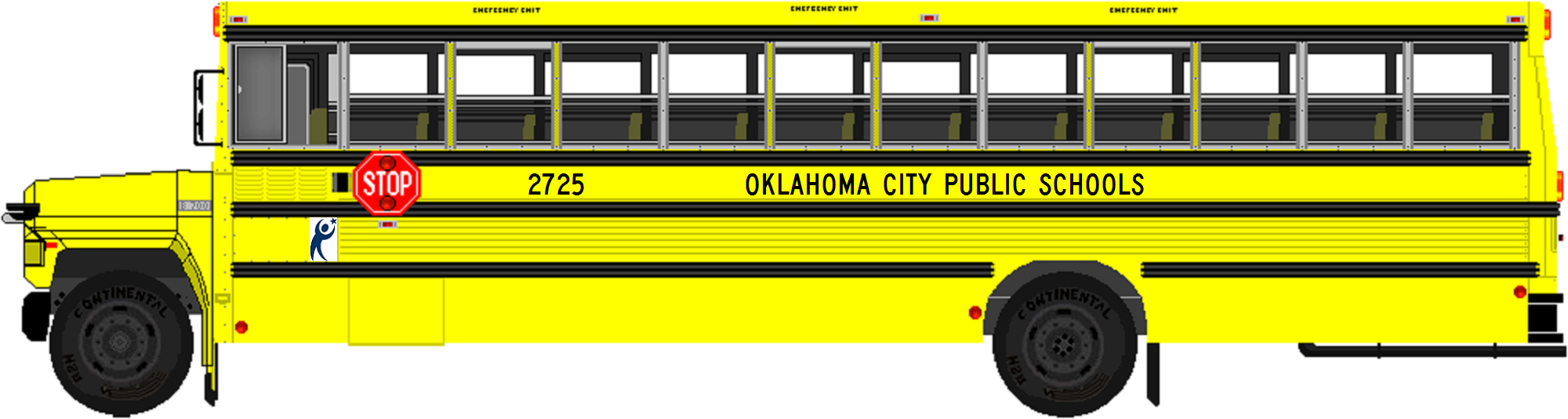 File Oklahoma City Public Schools Bus Png Wikimedia Commons