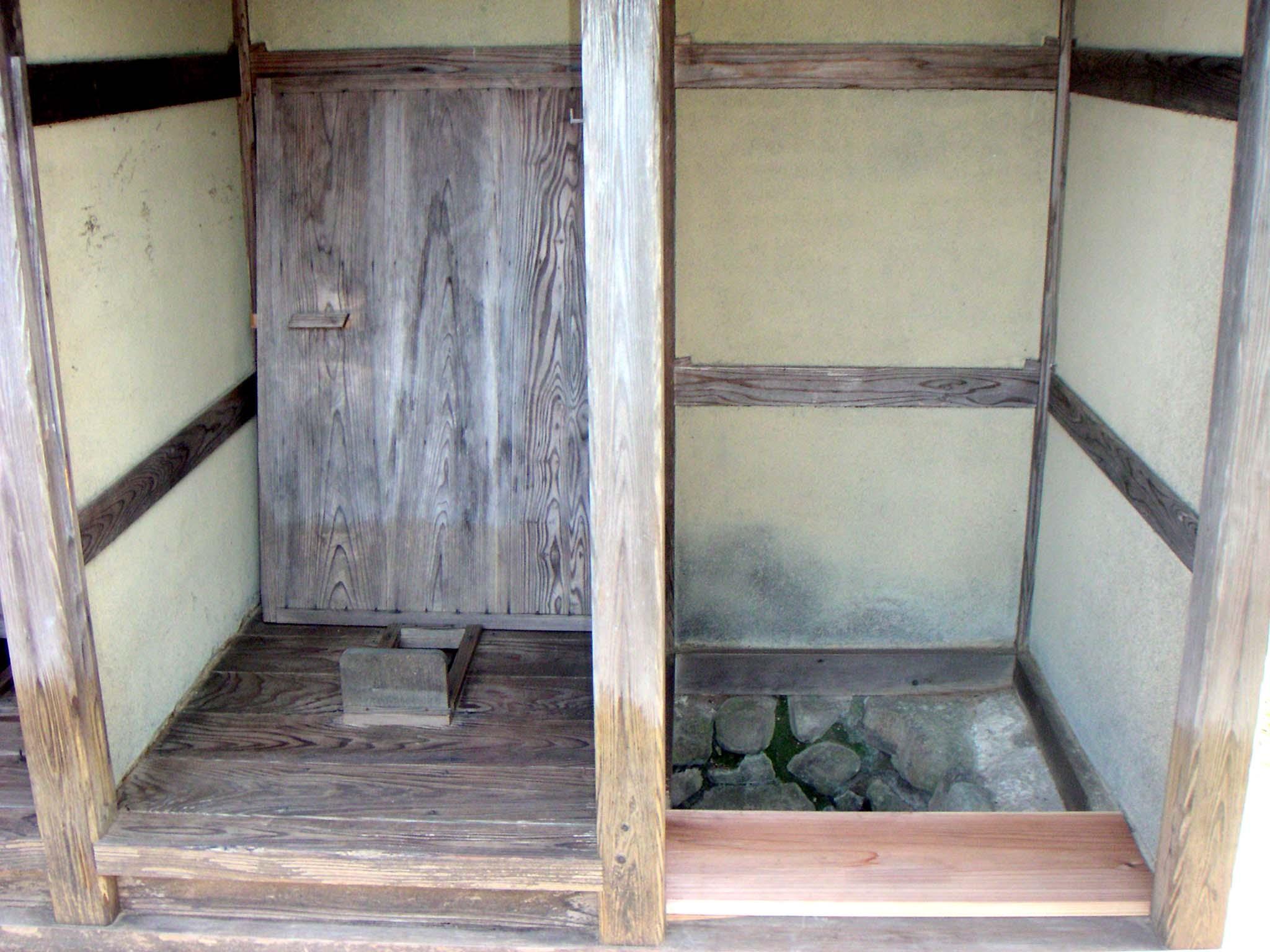file old japanese toilets ichijodani. Black Bedroom Furniture Sets. Home Design Ideas