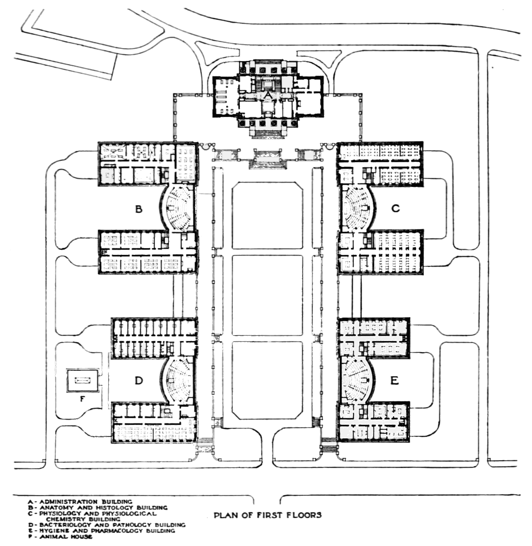 Filepsm V69 D097 Plan Of The New Harvard Medical Schoolg