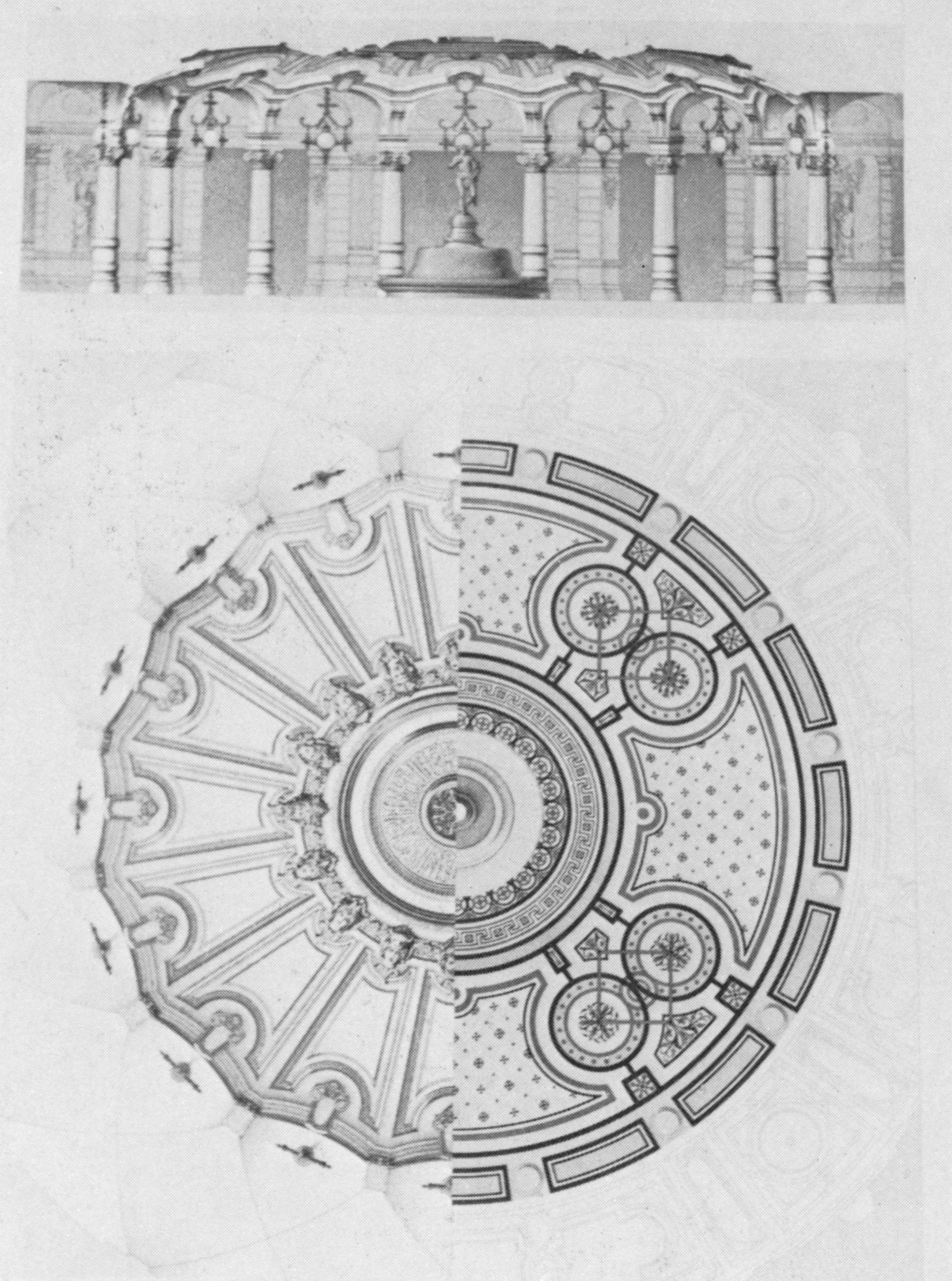 Elevation For Circular Plan : File palais garnier elevation of the circular vestibule